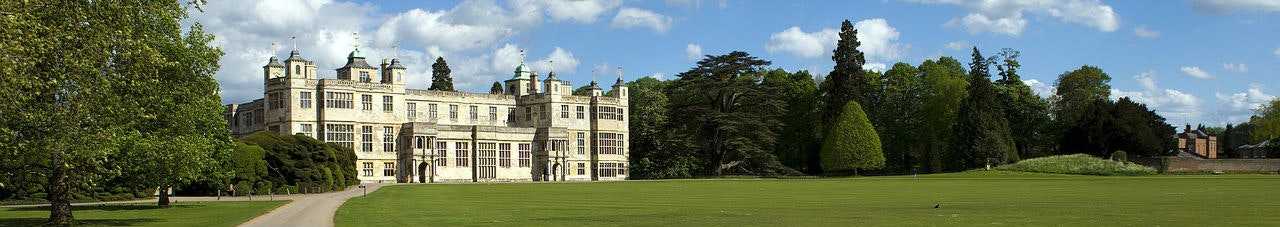 audley end essex uk large historical elizabethan stately home architecture
