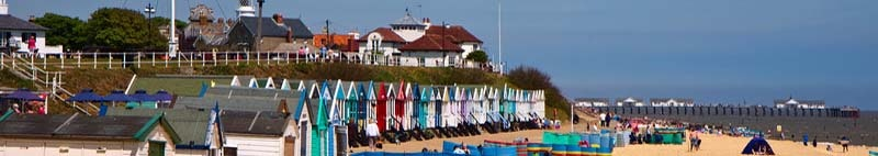Seaside resort of Southwold Suffolk United Kingdom